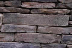Brown stone wall texture Stock Photography
