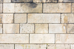 Brown stone wall. Stock Photography
