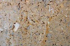 Brown stone wall stock images
