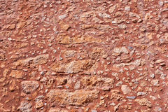 Brown stone walll Royalty Free Stock Photos