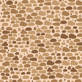 Brown stone walls background and texture  Stock Photography