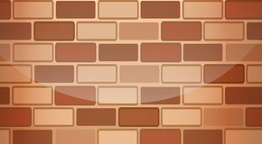 A brown stonewall. Illustration of a brown stonewall Stock Photo