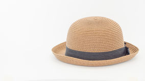 Brown Straw Hat Photo libre de droits