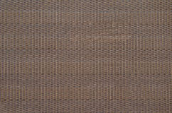 Brown straw mat Stock Photos