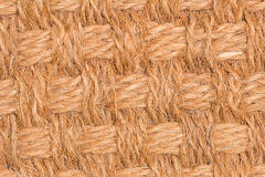 Brown straw pattern texture. Background stock images