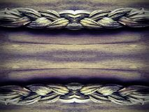 Straw plait Royalty Free Stock Photos