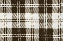 Brown stripe fabric cloth texture Stock Image