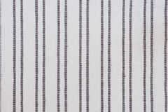 Brown stripe fabric Royalty Free Stock Photos