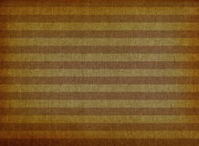 Brown striped canvas background stock photos