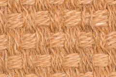 Brown-Strohmusterbeschaffenheit Stockbilder