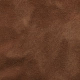 Brown suede texture Stock Photos