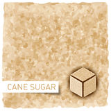 Brown sugar background Stock Photos