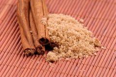 Brown Sugar and Cinnamon Royalty Free Stock Photography