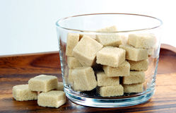Brown sugar. The closeup of brown sugar royalty free stock photography