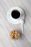 Brown Sugar Coffee Spoon Fotos de archivo libres de regalías