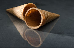 Brown Sugar Cone a isolé Image stock