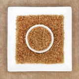 Brown Sugar Crystals Royalty Free Stock Image