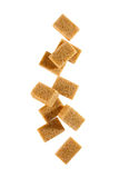 Brown Sugar Cubes Stock Image