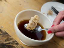 Brown Sugar Royalty Free Stock Photography