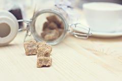 Brown sugar, Stock Photo