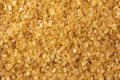 Brown sugar in the form of background Royalty Free Stock Image