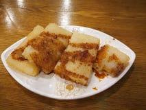 Brown sugar glutinous rice cake Royalty Free Stock Photo