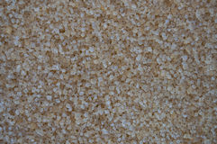 Brown Sugar Grains Texture and Background Stock Photos