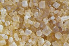 Brown sugar macro Royalty Free Stock Photo