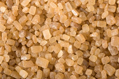 Brown sugar macro Stock Photos
