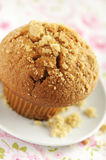 Brown sugar muffin Royalty Free Stock Image