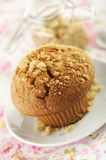 Brown sugar muffin Royalty Free Stock Photos