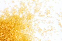 Brown sugar , organic ingredient Royalty Free Stock Photo