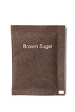 Brown sugar packet Stock Photos