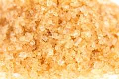 Brown sugar , selective focus Royalty Free Stock Image
