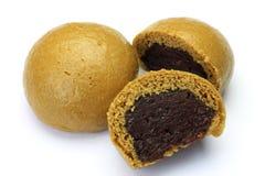 Brown sugar steamed bun Stock Photos