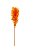 Brown sugar stick Stock Image