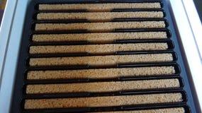 Brown sugar sticks Stock Photos