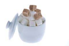 Brown sugar. unhealthy diet Stock Image