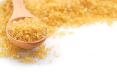 The brown sugar Royalty Free Stock Images