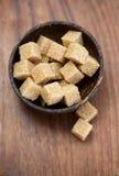 The brown sugar Royalty Free Stock Photos