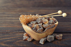 Brown sugar Royalty Free Stock Images