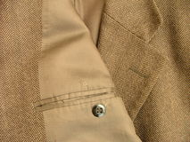 Brown suit royalty free stock photo