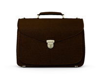 Brown Suitcase Royalty Free Stock Photography