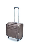 Brown suitcase Royalty Free Stock Images