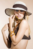 Brown summer color Stock Photos