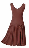Brown-sundress Stockfotografie