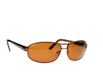Brown Sunglasses Royalty Free Stock Photos