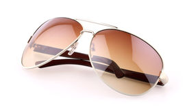Brown sunglasses Stock Image