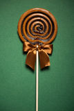 Brown Sweet Lollipop For Children Stock Image