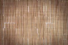 Brown syntetycznej tkaniny wzór Zdjęcie Royalty Free